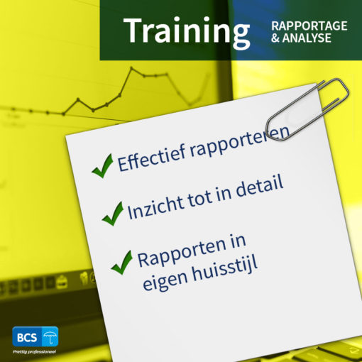 Rapportage & Analyse